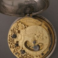 Hollands zakhorloge, 'Jacobus Viet, Rotterdam'.